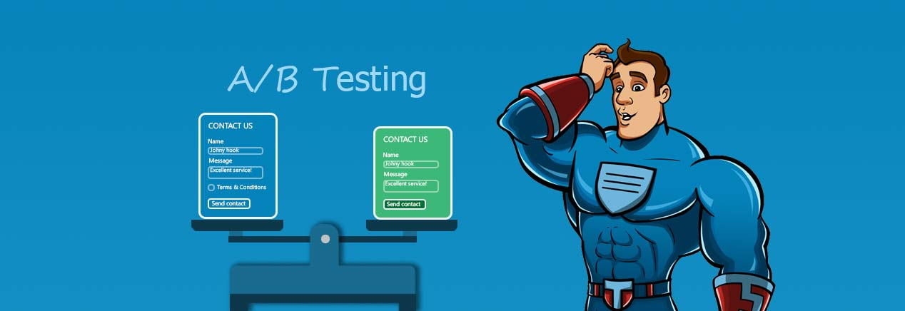 A/B testing features